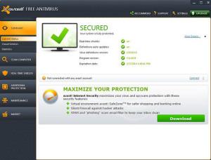 Avast Free Antivirus letöltés